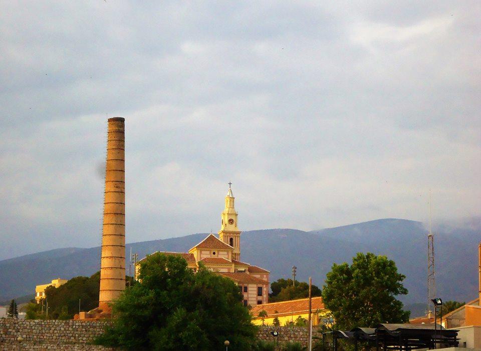 La Alcoholera y el cerro de la Virgen, Motril