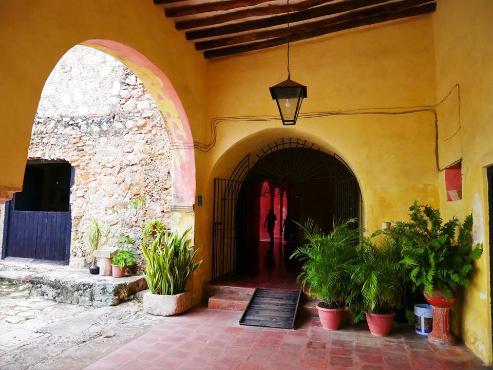 Patio del convento de San Bernardino