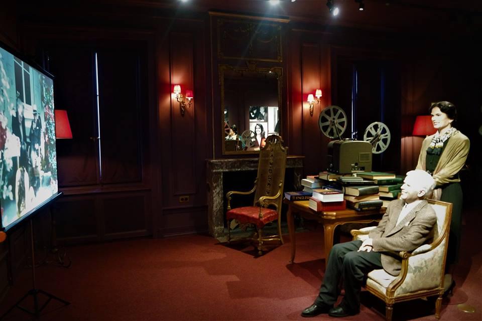 Salón de la casa de Chaplin