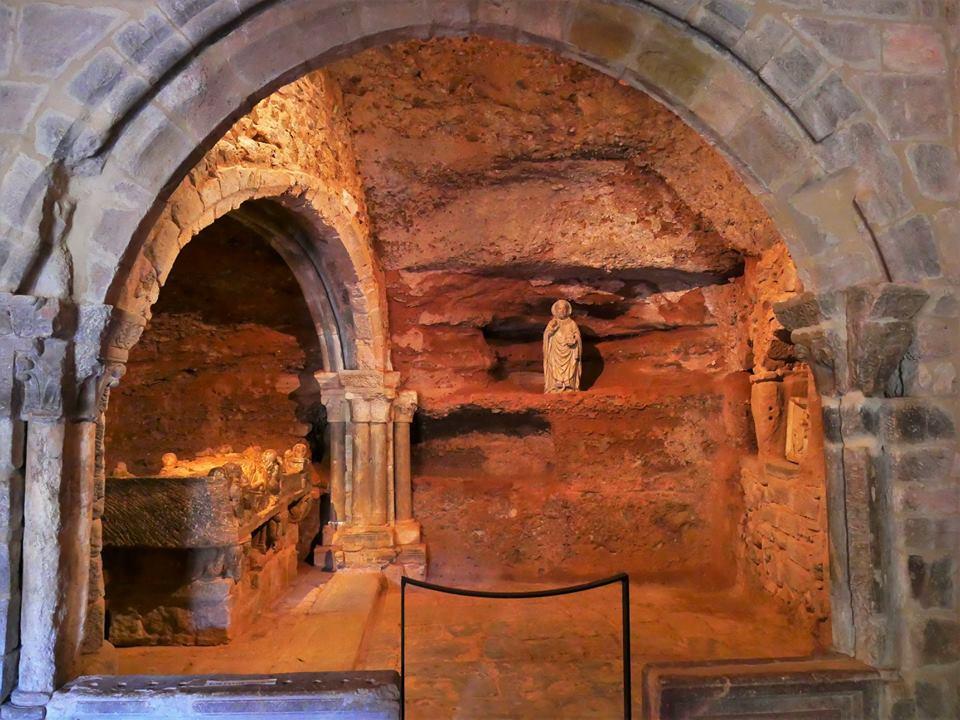 Cueva de San Millán, monasterio de Suso