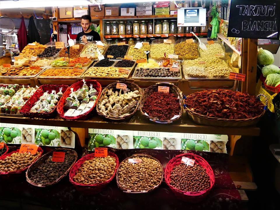 Puestos del mercado Oriental de Génova