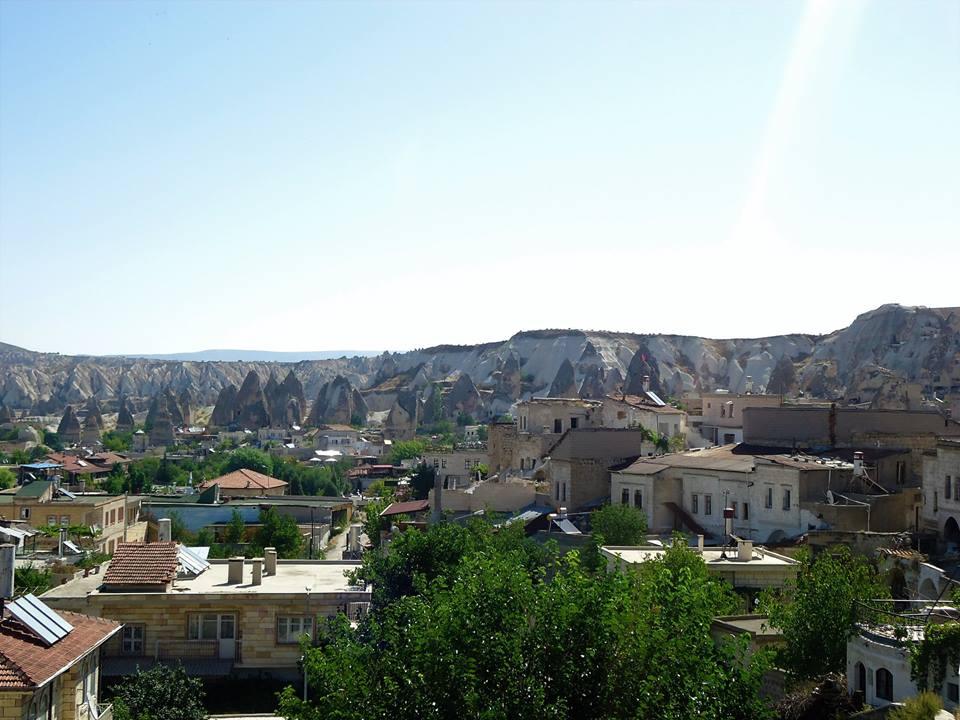 Vistas desde la terraza del hostel de Göreme