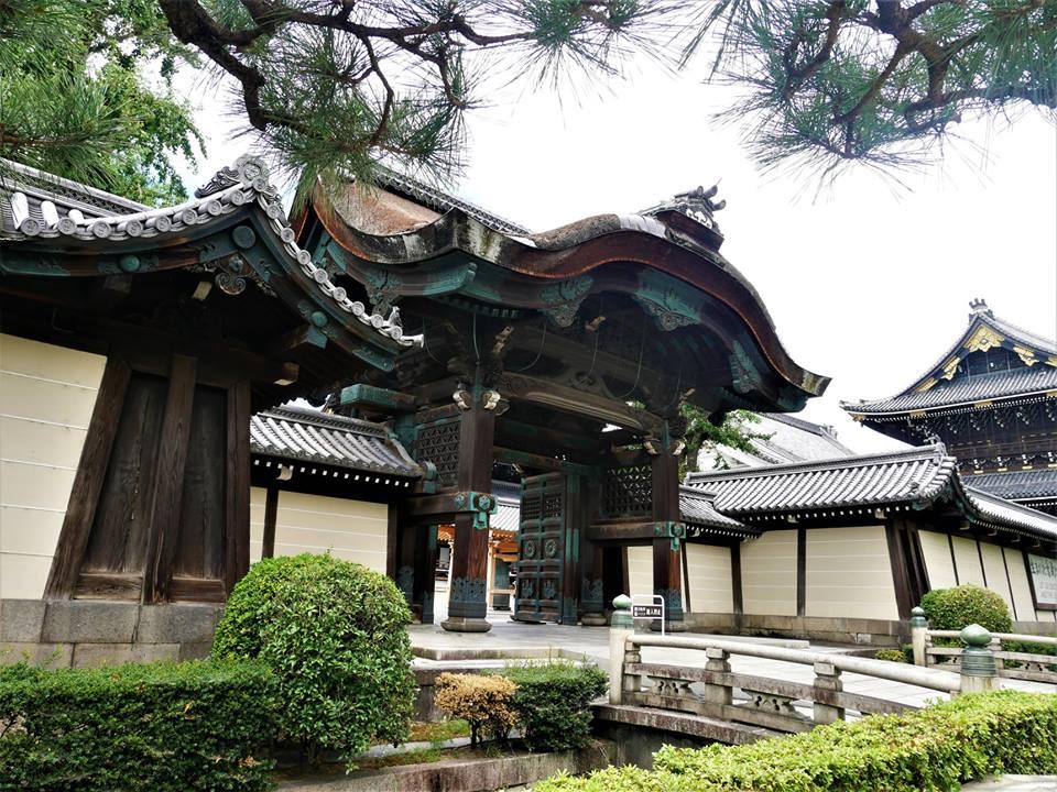 Entrada a Hongan-ji