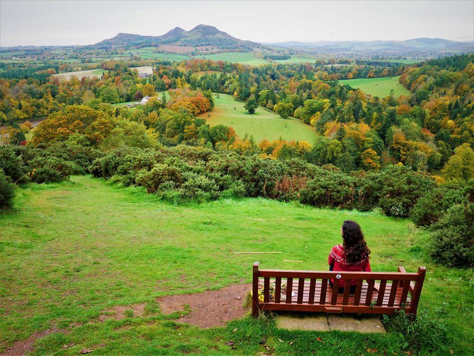 Scott´s View, ruta por el sur de Escocia