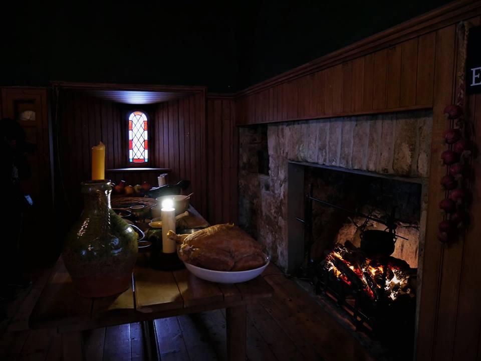 Salón del castillo de Dalkey