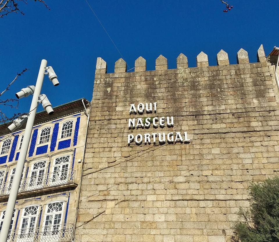 Aquí nació Portugal
