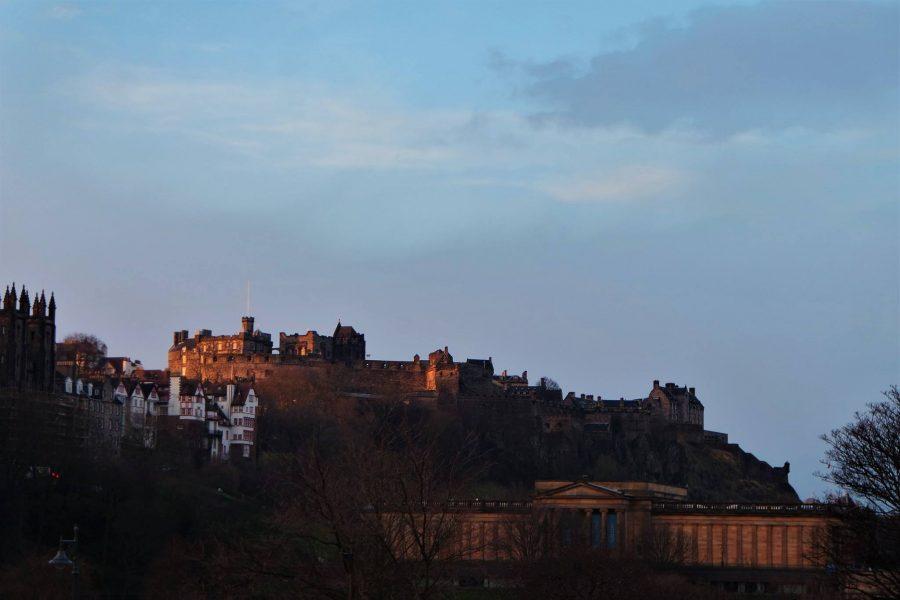 Castillo de Edimburgo y Galería
