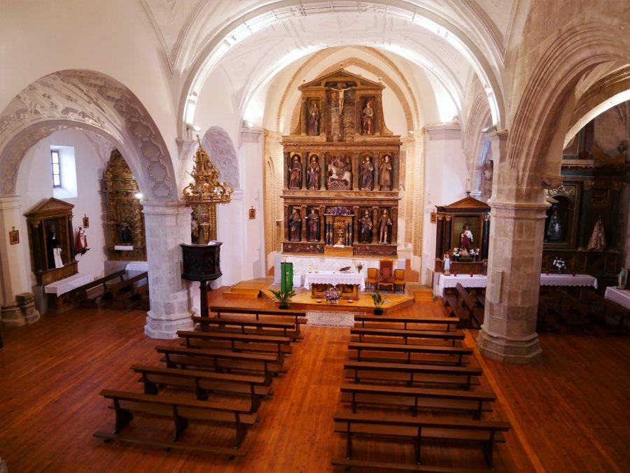 Iglesia de Santiago en Alcazarén