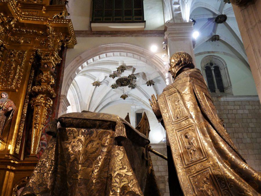 Arzobispo de Rojas, Colegiata de Lerma