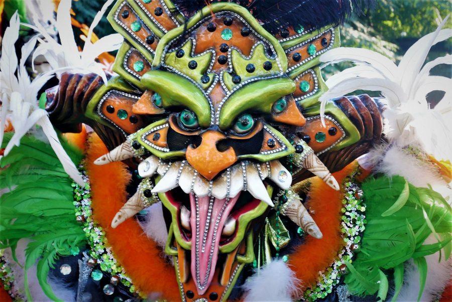 Máscara, carnaval de la Vega, los diablos cojuelos