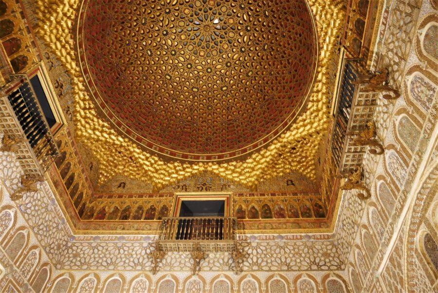 Cúpula del Salón de los Embajadores del Alcázar de Sevilla