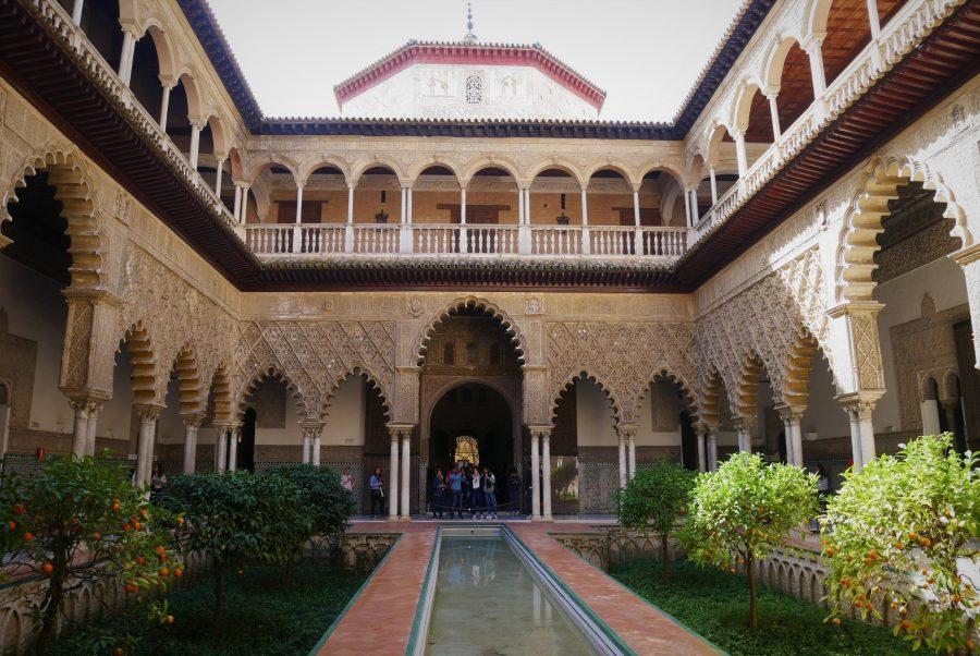 Patio de las Doncellas, Alcázar de Sevilla