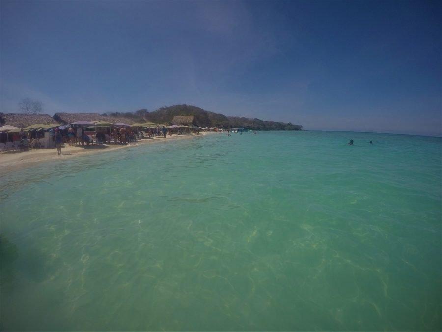Playa de Barú, Cartagena de Indias