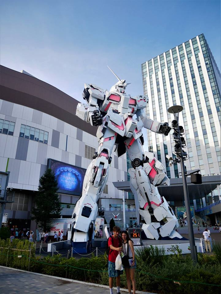 Gundam Unicorn, DiverCity de Odaiba