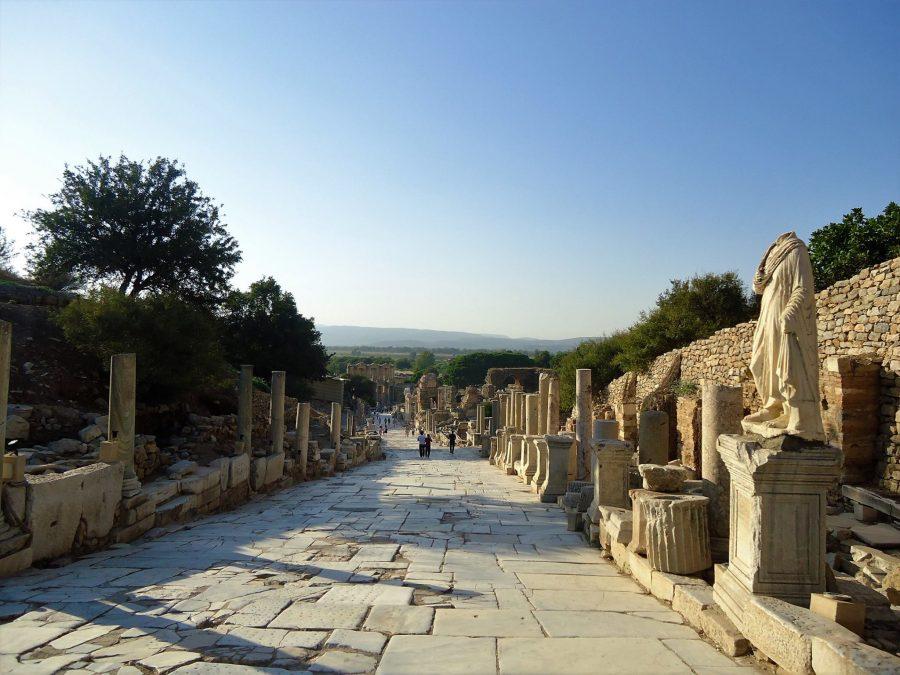 Vía principal de Éfeso