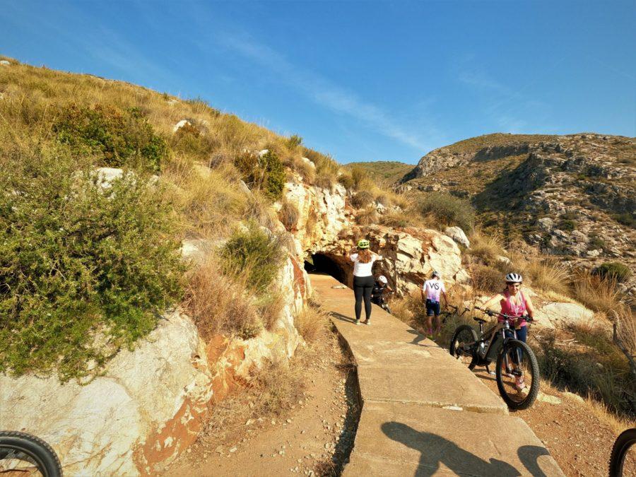 En bici por el valle de Salobreña