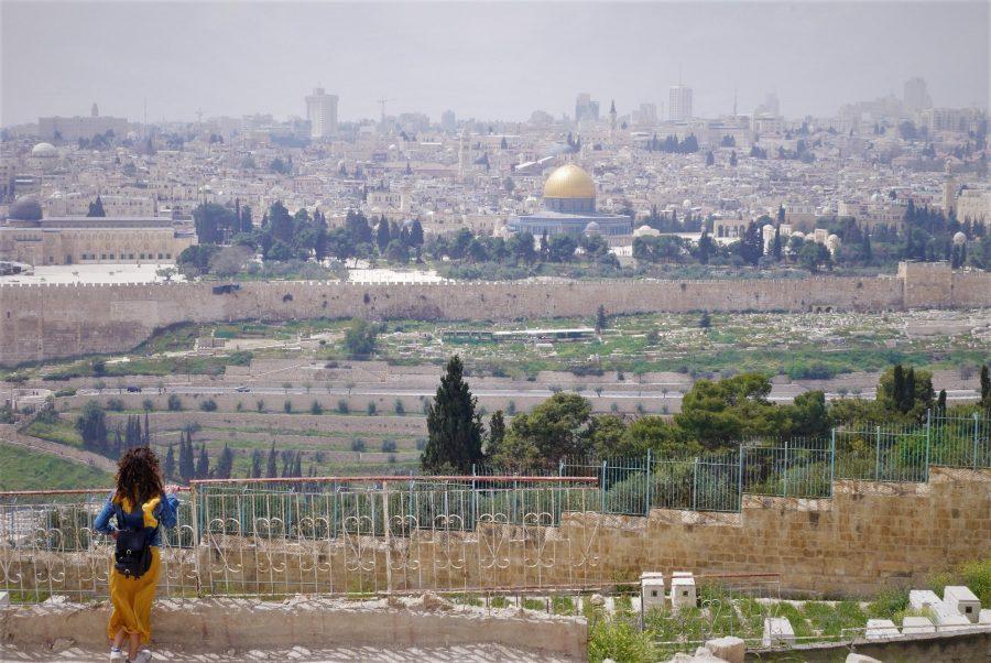 Jerusalén desde el Monte de los Olivos