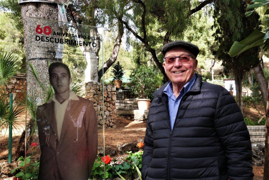 José Torres, uno de los descubridores de la Cueva de Nerja