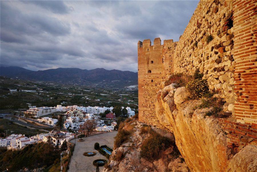 Murallas del castillo de Salobreña