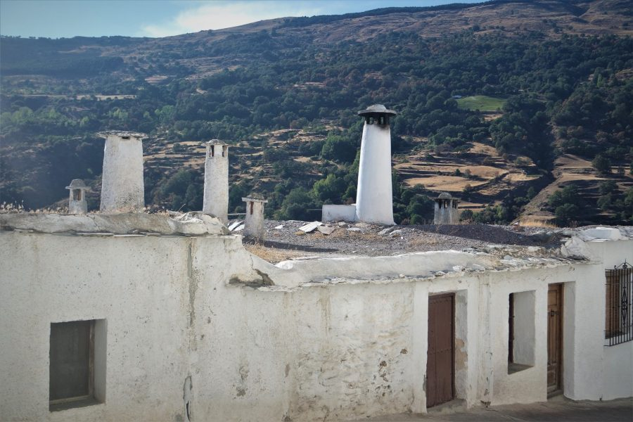 Chimeneas de La Alpujarra, Capileira, los pueblos más bonitos de Granada