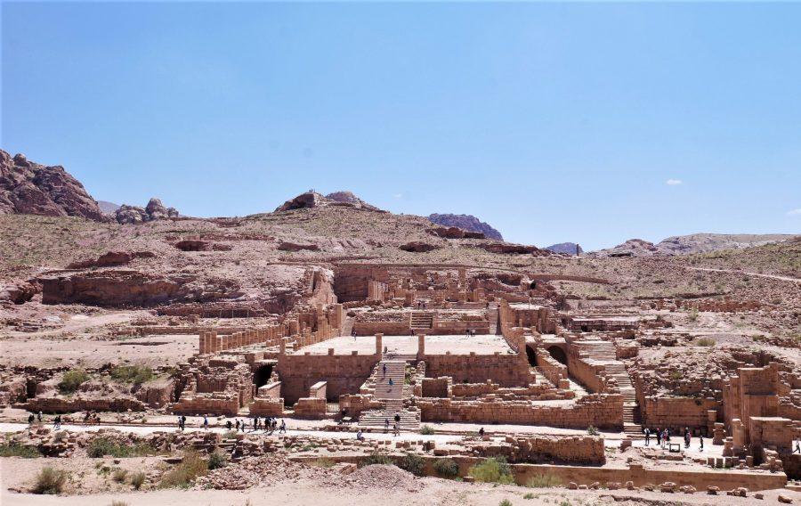 El Gran Templo, visitar Petra en 2 días