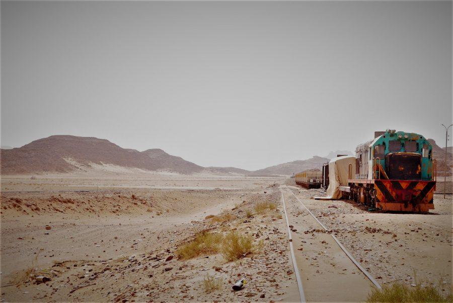 Estación fantasma en Wadi Rum