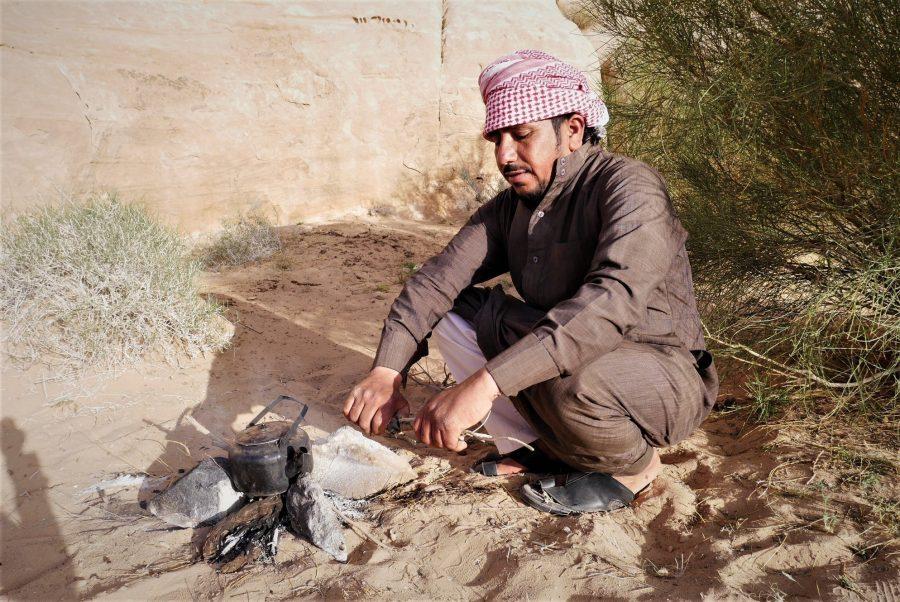 Hussin, campamento beduino en Wadi Rum