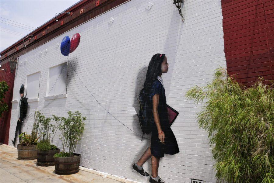 Melrose Avenue, murales en Los Angeles