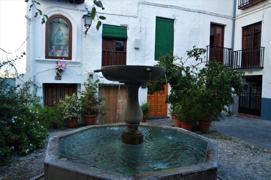 Plaza de Lanjarón, los pueblos más bonitos de Granada