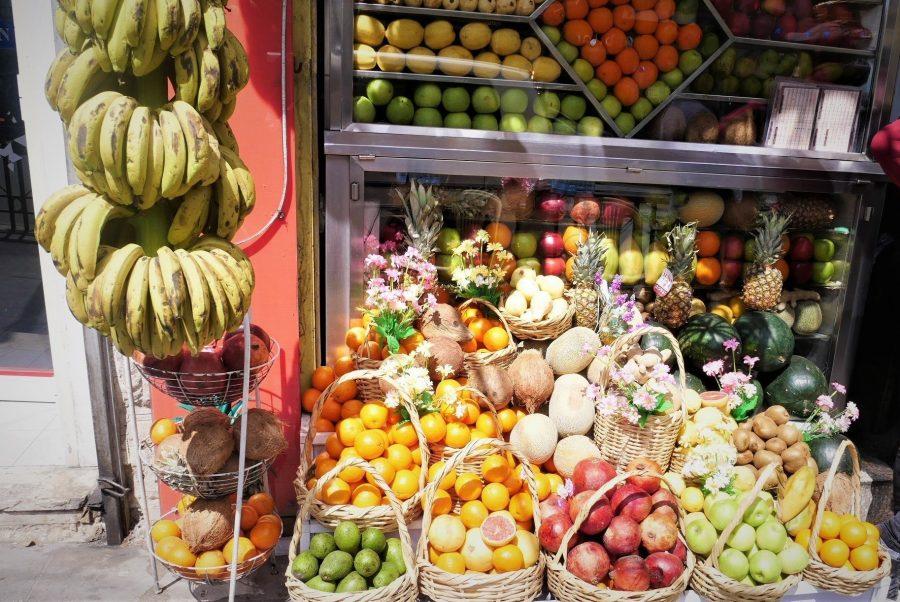Puestos de frutas de Ammán