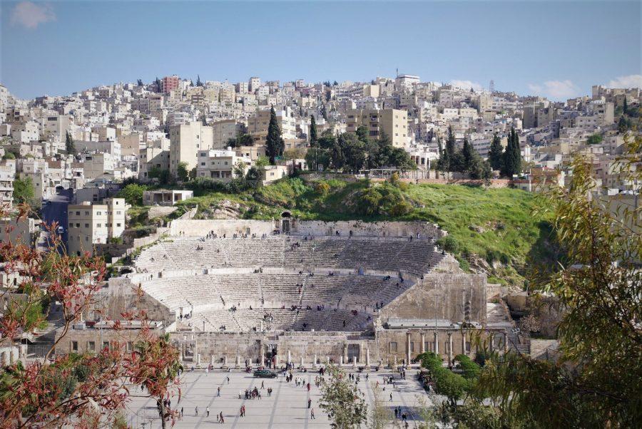 Teatro Romano de Ammán, Jordania