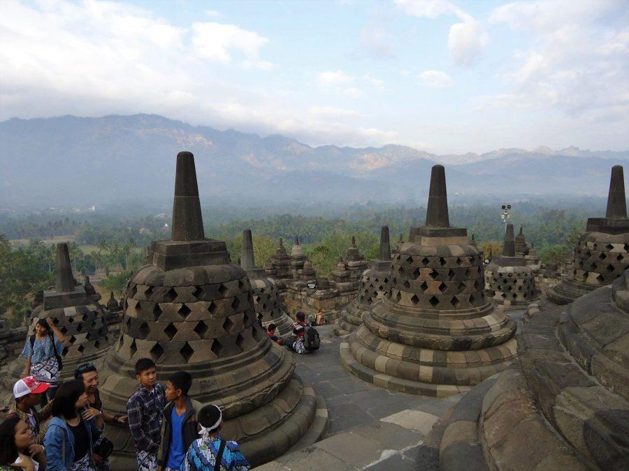 Templo de Borobudur en Java