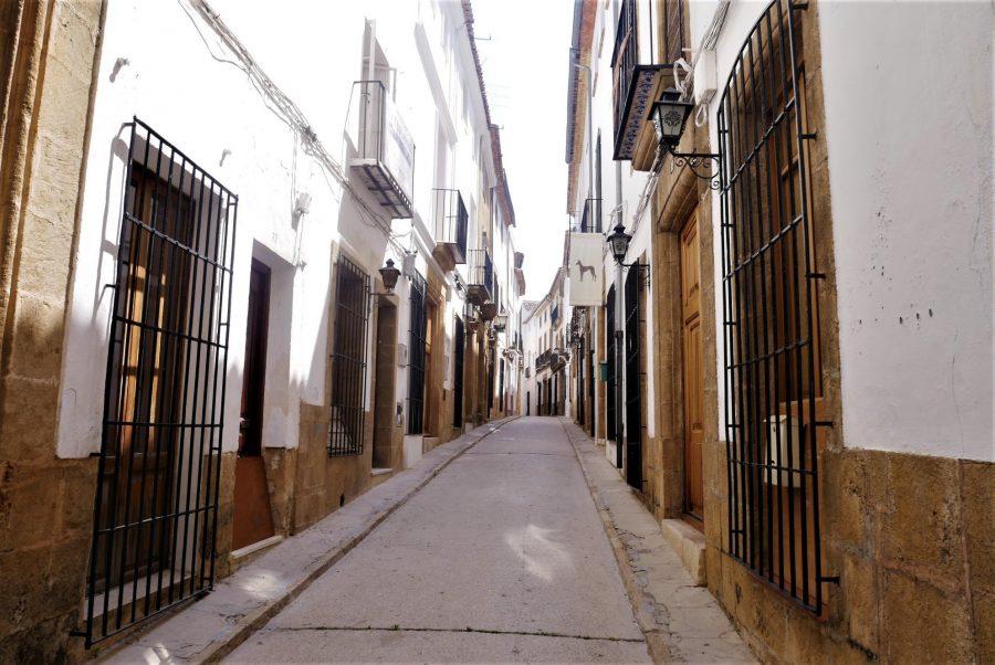 Calles de Jávea, pueblos bonitos que ver en Alicante