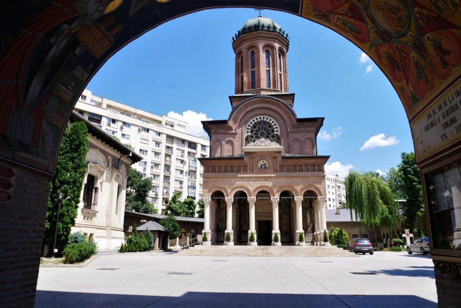 El monasterio Antim de Bucarest