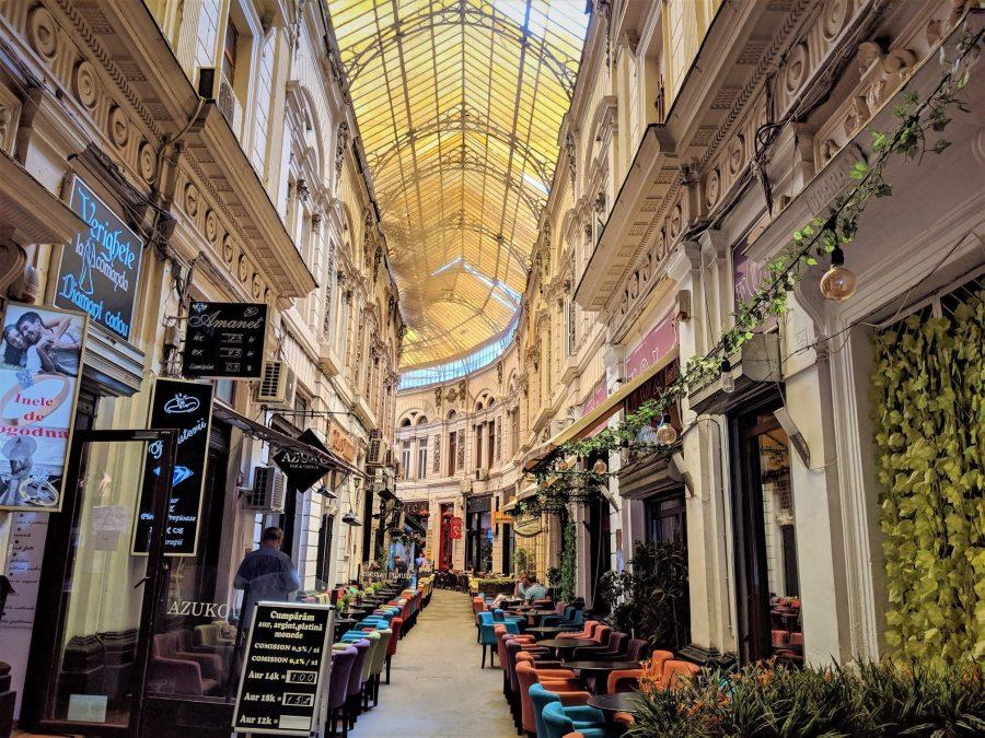 Pasaje Macca - Vilacrosse, qué ver en Bucarest