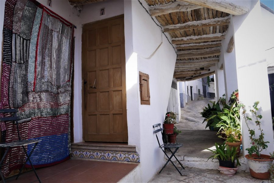 Casas típicas de la Alpujarra granadina