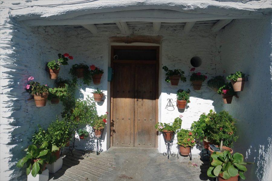 Alpujarra de la Sierra, casas típicas
