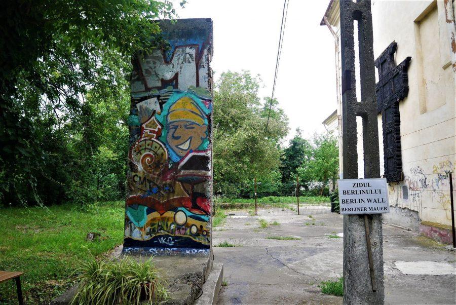 Un trozo del Muro de Berlín en Timisoara