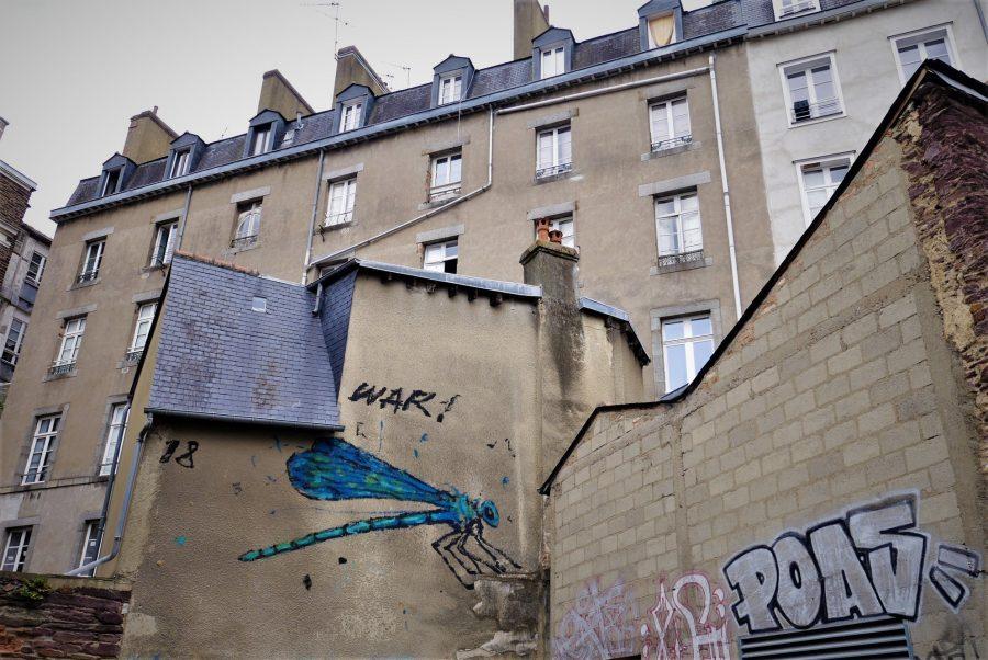 Arte urbano en Rennes