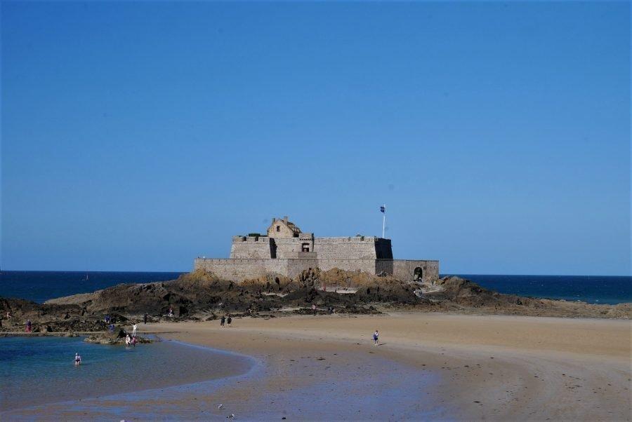 El fuerte de Saint-Malo