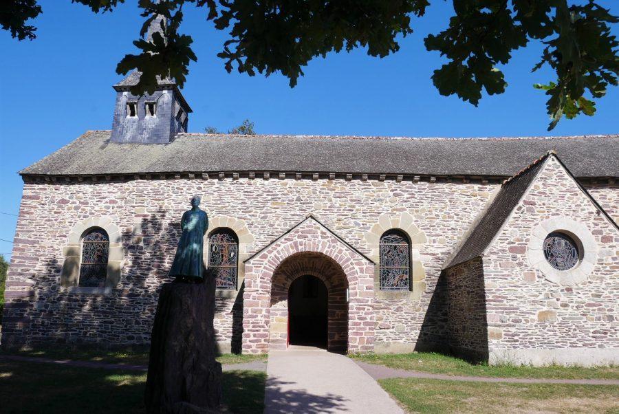 Iglesia del Grial, bosque de Brocéliande