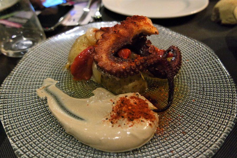Pulpo a la brasa, platos típicos asturianos