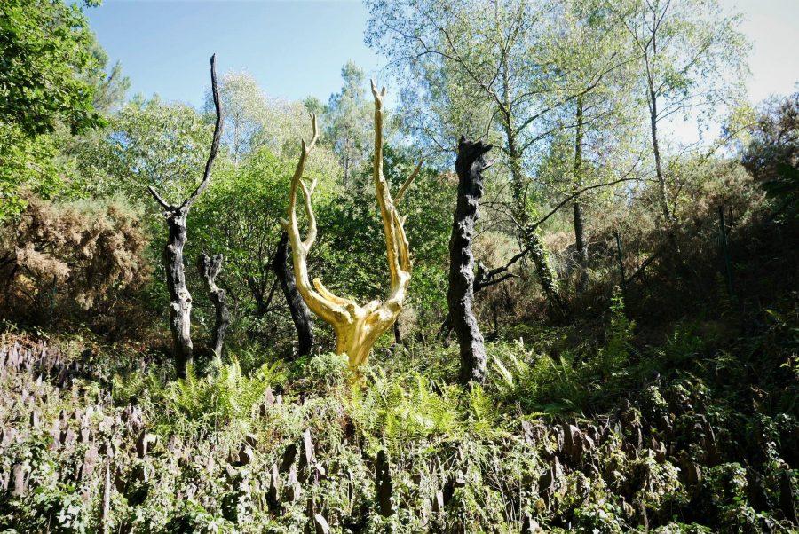 Árbol de oro en Brocèliande