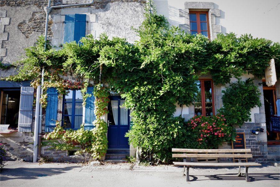 Casas típicas de Rochefort