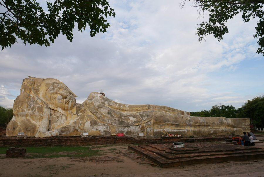 El Buda Reclinado de Ayutthaya