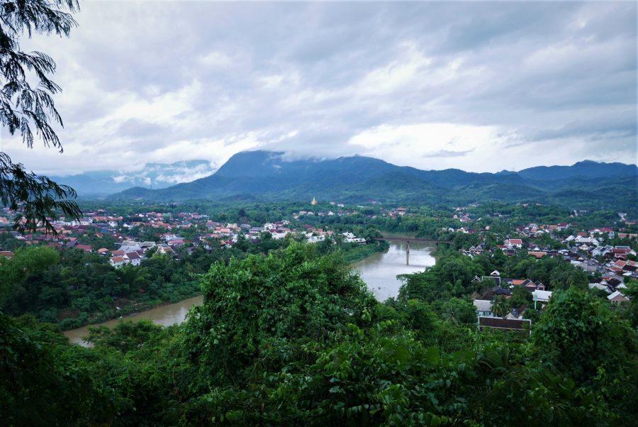 Colina de Phou Si, vistas a Luang Prabang