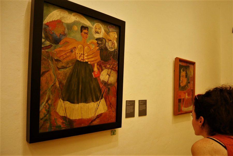 Cuadros de Frida Kahlo en la Casa Azul