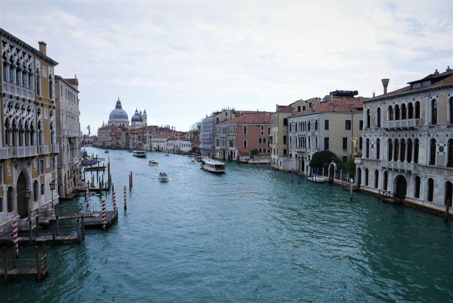 Gran Canal de Venecia desde el Puente de la Academia