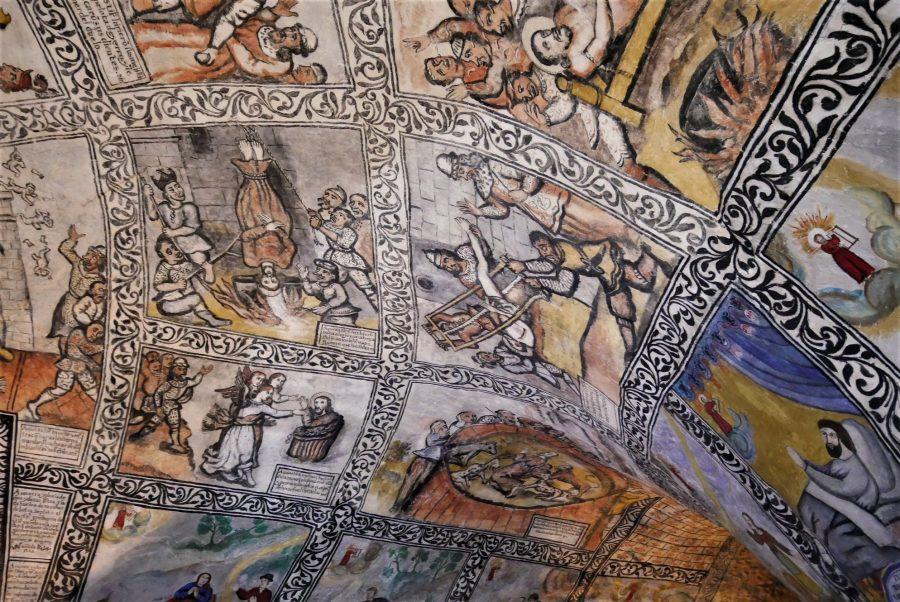Pinturas de la ermita de San Bernabé, Ojo Guareña