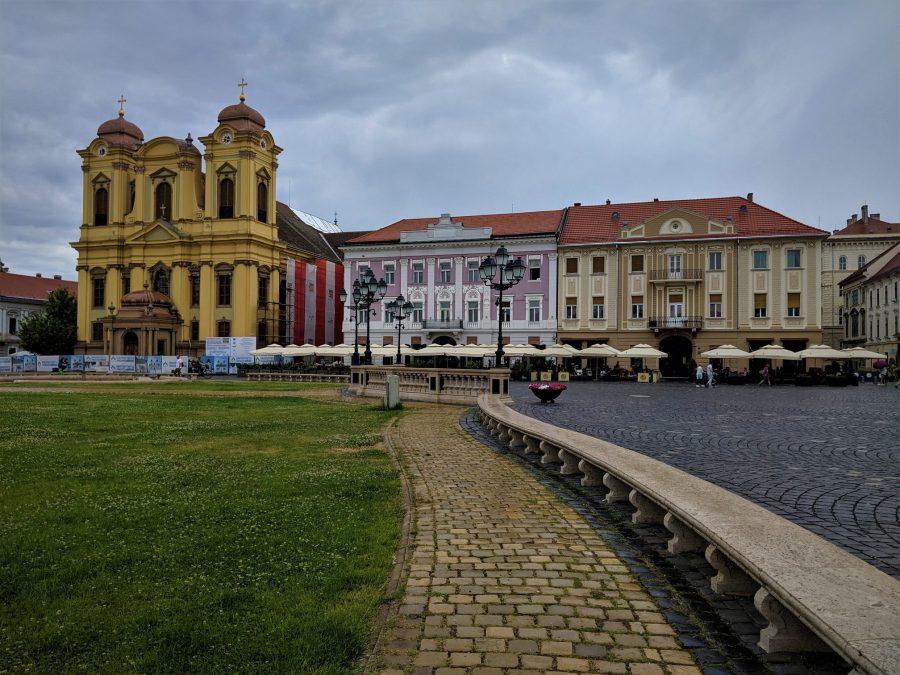 Plaza Unirii, Timisoara, ruta de 15 días por Rumanía